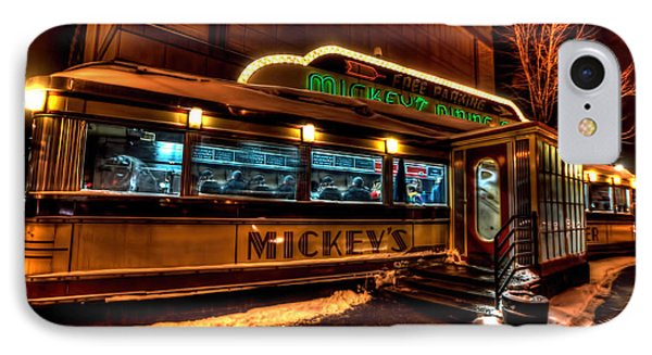 Mickey's Diner St Paul IPhone Case