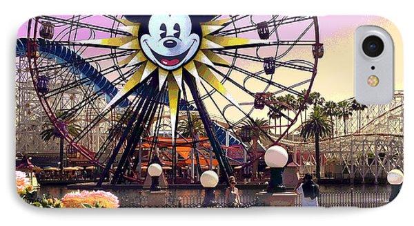 Mickey's Fun Wheel II IPhone Case