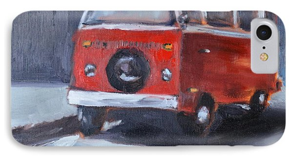 Microbus IPhone Case by Lindsay Frost