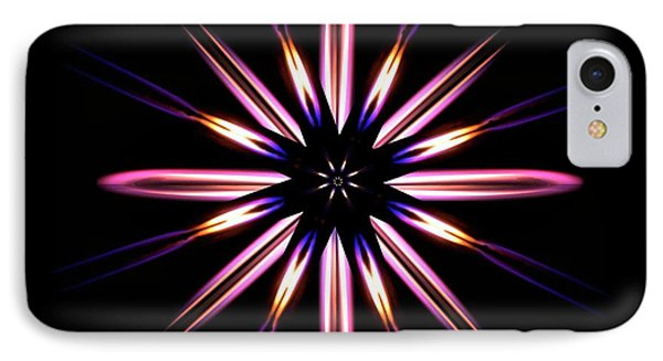 Microgravity Flames Artwork IPhone Case