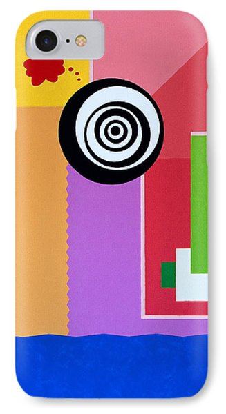 Mid Century Conflict IPhone Case by Thomas Gronowski