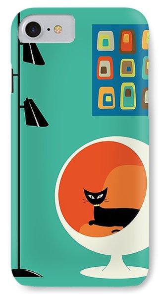 Mid Century Mini Oblongs IPhone Case