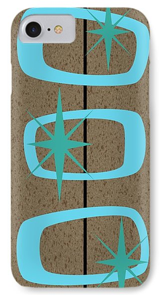 Mid Century Modern Shapes 1 IPhone Case