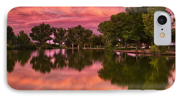 Mid Summers Sunset IPhone Case