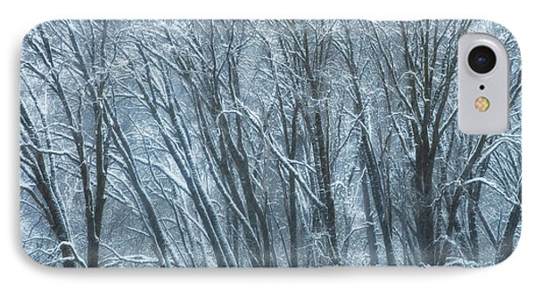 IPhone Case featuring the photograph Mid-winter Storm by Jonathan Nguyen