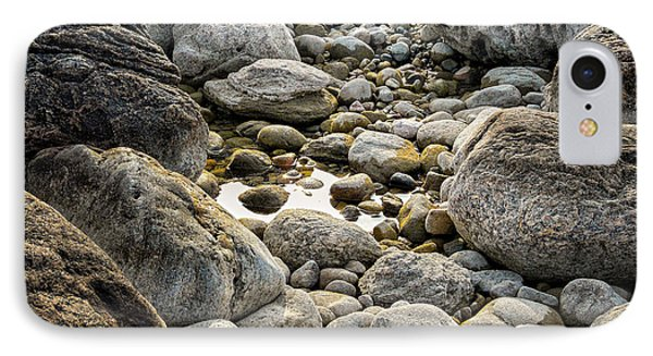 Middle Cove Rocks Phone Case by Heather Kertzer