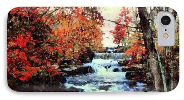 Middle Creek Mill Falls IPhone Case