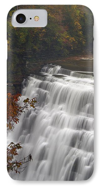 IPhone Case featuring the photograph Middle Falls II by Timothy McIntyre