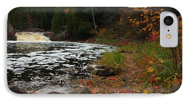 Middle Falls Tettegouche Phone Case by James Peterson