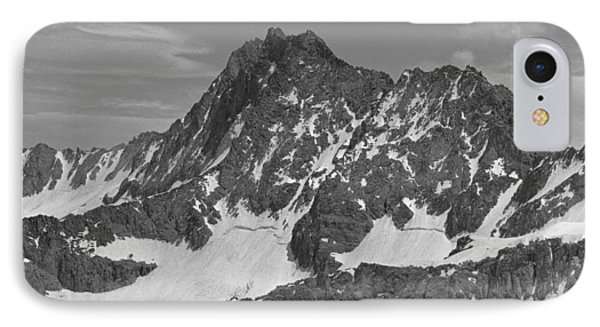 406429-e-middle Palisade Bw IPhone Case
