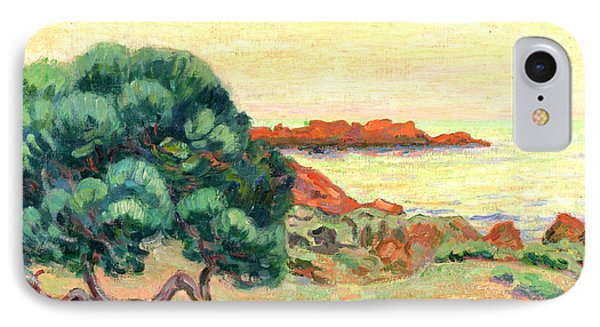 Midi Landscape IPhone Case by Jean Baptiste Armand Guillaumin