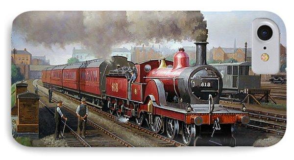 Midland Railway Single 1896. IPhone Case by Mike  Jeffries