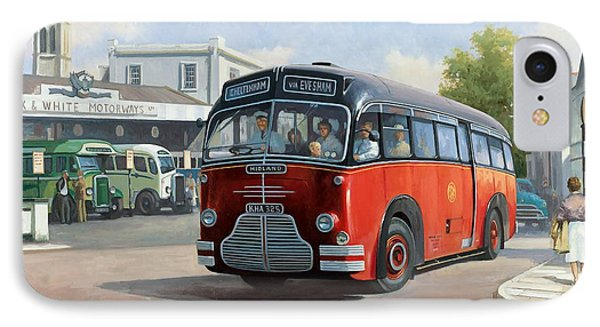 Midland Red C1 Coach. Phone Case by Mike  Jeffries