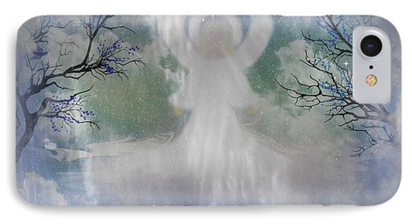 Midnight Angel Of Peace Phone Case by Sherri's Of Palm Springs