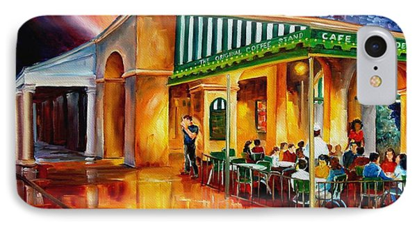 Midnight At The Cafe Du Monde Phone Case by Diane Millsap