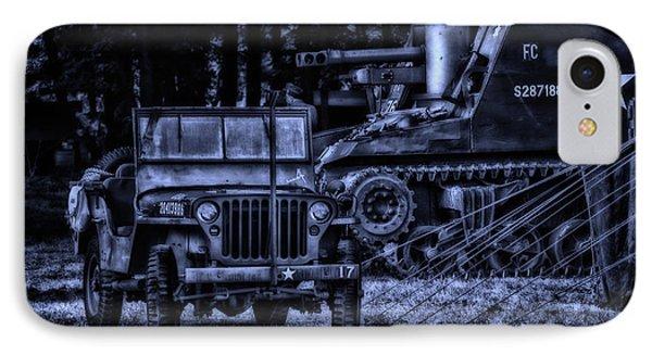 Midnight Battle And All Is Quite On The Front Lines Phone Case by Thomas Woolworth