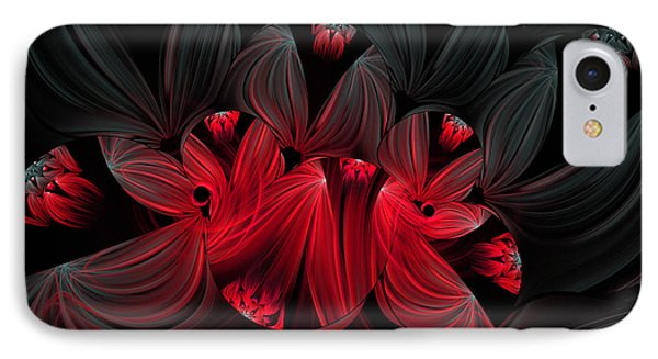 Midnight Blooms IPhone Case