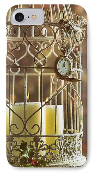 Midnight Candles IPhone Case by Amanda Elwell