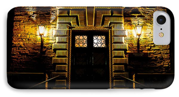 IPhone Case featuring the photograph Midnight Entryway by Rhys Arithson