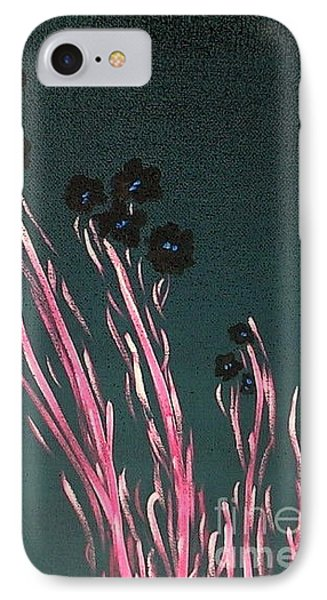 Midnight Garden 5 IPhone Case by Bill OConnor