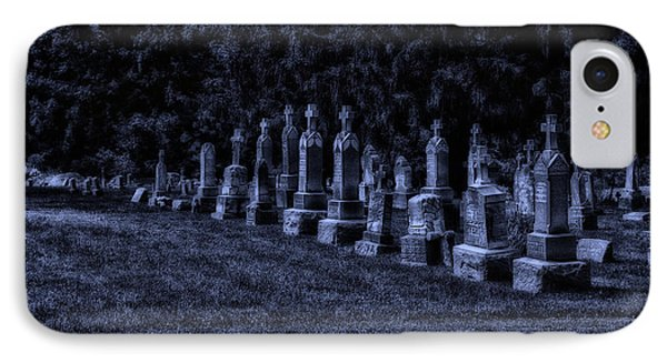 Midnight In The Garden Of Stones Phone Case by Thomas Woolworth