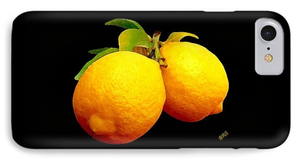 Midnight Lemons Phone Case by Ben and Raisa Gertsberg