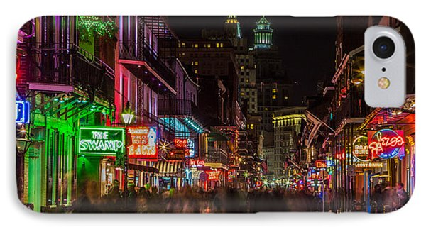 Midnight On Bourbon Street IPhone Case by John McGraw