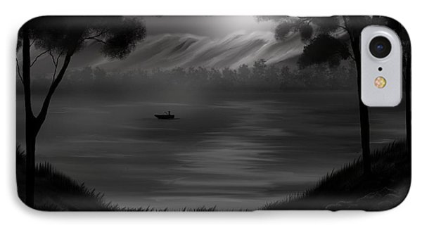 Midnight On The Lake Phone Case by Steve Hermann