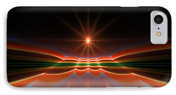 Midnight Sun IPhone Case by GJ Blackman