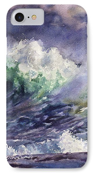 Midnight Surf IPhone Case by Anne Gifford