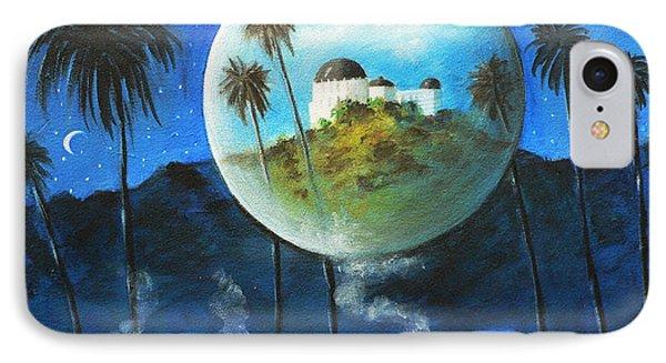 Midnights Dream In Los Feliz Phone Case by S G
