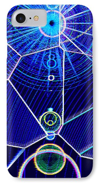 IPhone Case featuring the mixed media Midori Sunrise by Carl Hunter