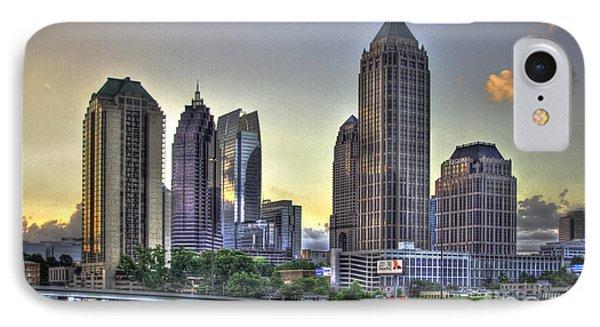 Midtown Atlanta Sunrise IPhone Case by Reid Callaway