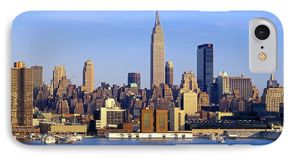 Midtown Manhattan From New Jersey IPhone Case by Panoramic Images