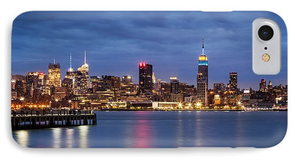 IPhone Case featuring the photograph Midtown Manhattan by Mihai Andritoiu