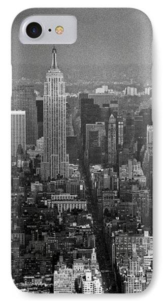 Midtown Manhattan Winter 1980s IPhone Case
