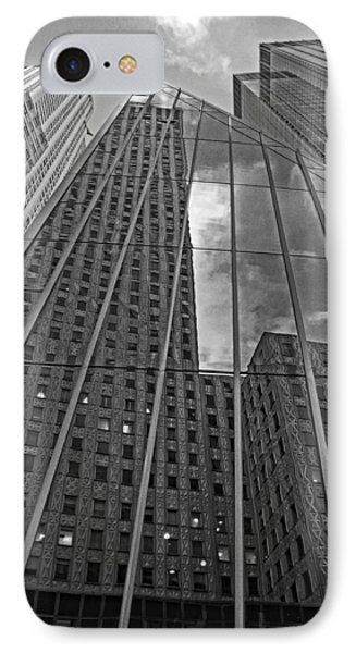 Midtown Reflections Phone Case by Mike Martin