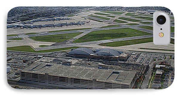 Midway Airport Chicago Airplanes 02 IPhone Case by Thomas Woolworth