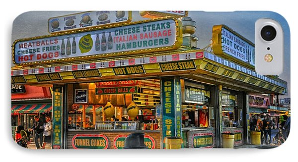IPhone Case featuring the photograph Midway Steak House by Debra Fedchin