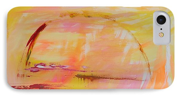 IPhone Case featuring the painting Midwest Sunrise by PainterArtist FIN