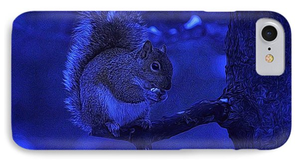 IPhone Case featuring the photograph Midwinter Snack by Dennis Lundell