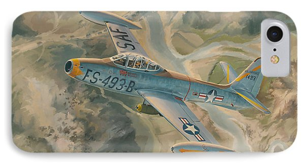 Mig Killer IPhone Case by Randy Green