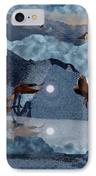 Migrations IPhone Case by Kathy Bassett