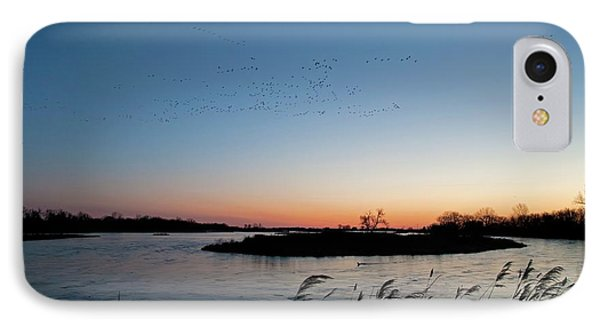Migratory Birds IPhone Case by Jim West