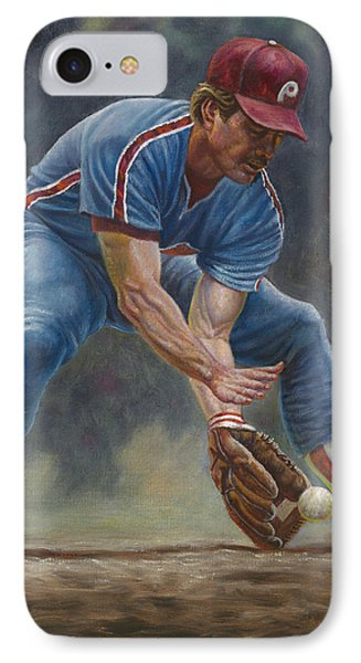 Mike Schmidt IPhone Case by Gregory Perillo