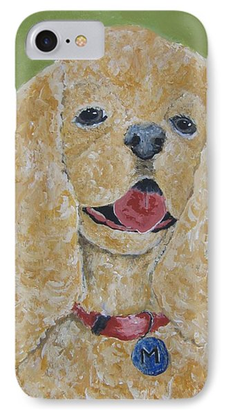 Mikey IPhone Case by Suzanne Theis