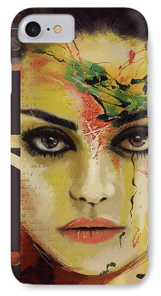 Mila Kunis  Phone Case by Corporate Art Task Force