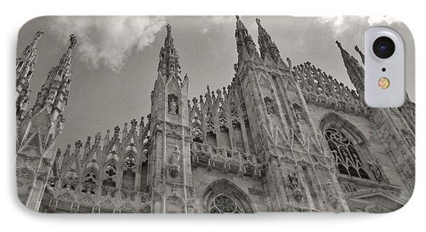 Milan Duomo IPhone Case by Ramona Matei