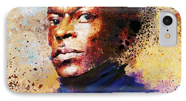 Miles Ahead IPhone Case by Howard Barry