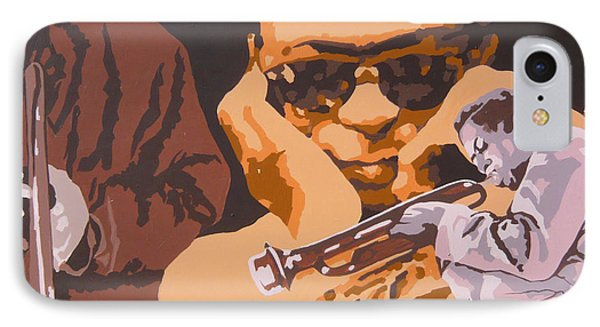 Miles Davis I Phone Case by Ronald Young